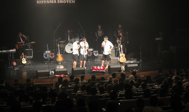 きいやま商店ライブ2016レポートトーク