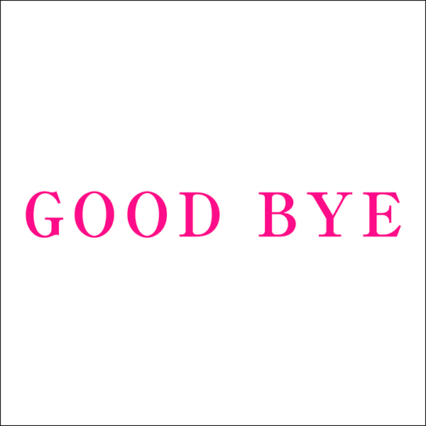 Cocco「GOOD BYE」