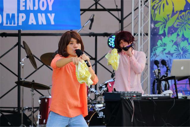 FEC25周年祭008_大兼のぞみ with.DJ レイコ